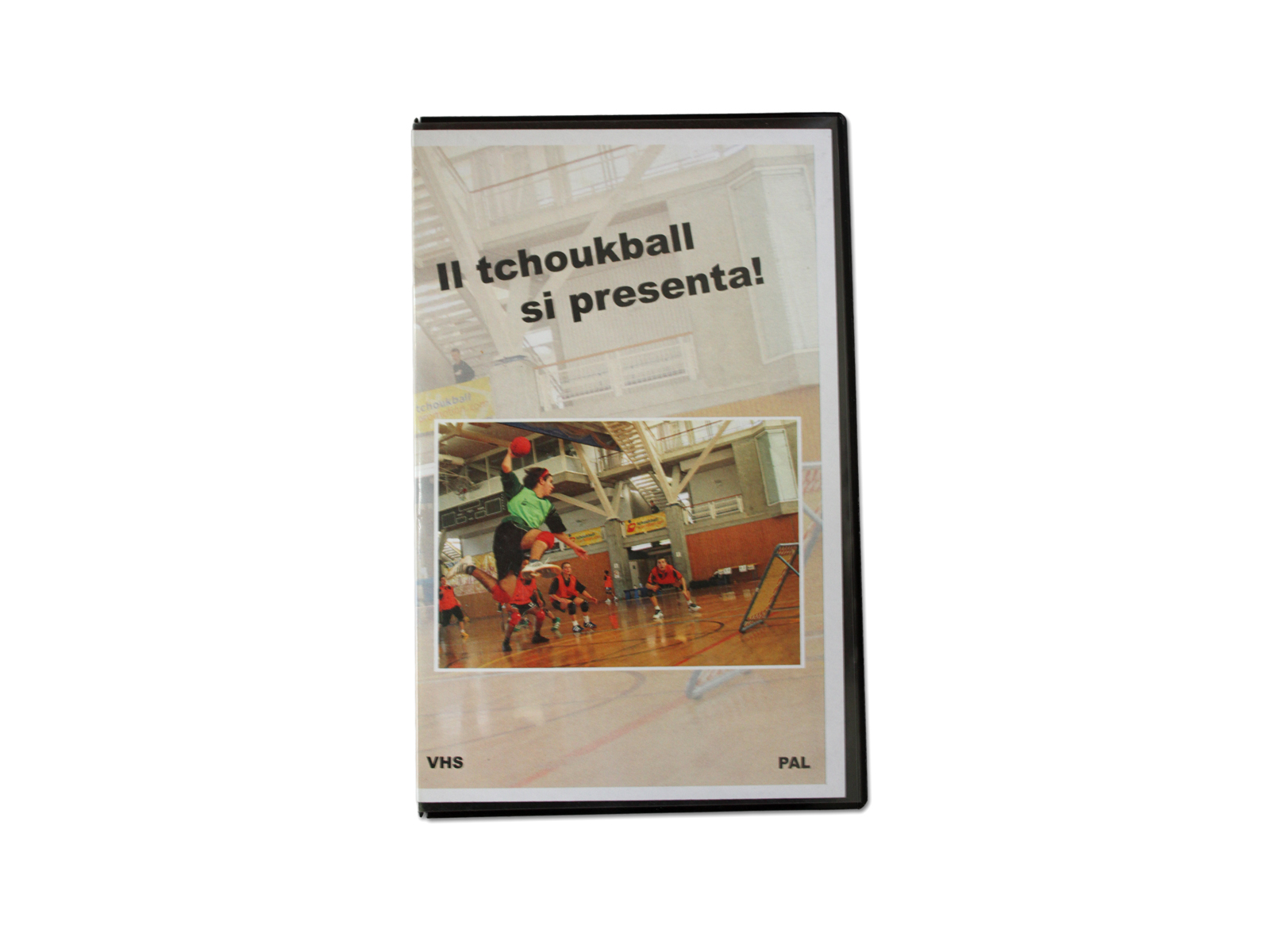 """Presenting tchoukball"" video"